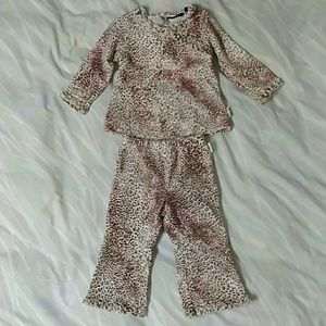 The Children's Place Leopard 2 Piece Set